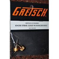 Genuine Gretsch Knob Strap Gold W/Hanger Bolt 2-Pack 922-1029-000