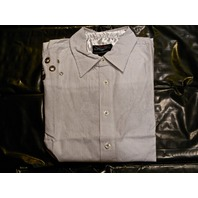 "FENDER CUSTOM SHOP ""OVER THE RAILS"" LS SHIRT WHITE  SMALL"