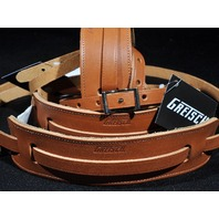 GRETSCH  STRAPS  3-SKINNY LEATHER  NATURAL  NEW