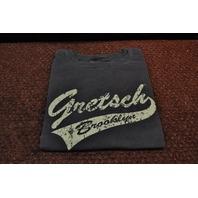 Gretsch Brooklyn Tail Tee Shirt Faded Black X-Large