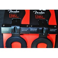 FENDER (2-PACK) STATIC HALO GUITAR WALL HANGER  FREE SHIPPING 0991816003