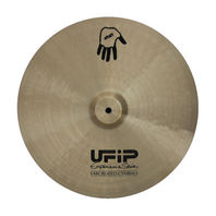 "UFiP Experience Series 20"" Hand Cymbal FREE WORLDWIDE SHIPPING"