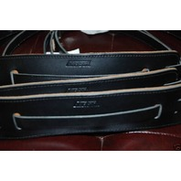 Gretsch Straps 3-Skinny Vintage Leather Black New