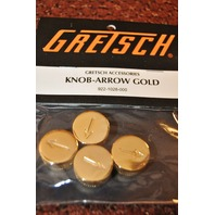 Genuine Gretsch  Knob Arrow Gold  4-PACK 922-1028-000