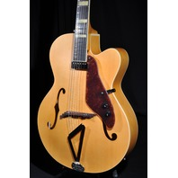 Gretsch G100CE Flat Natural Synchromatic Archtop  AC/EL 2018 Guitar