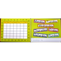 MY FIRST DIARY BOARD BOOK (WITH DRY-ERASE MARKER & ERASER) 3 PACK