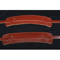 Gretsch Skinny Leather Guitar Strap Walnut New (2 Pack)