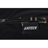 Gretsch Tooled Leather Guitar Strap Black New