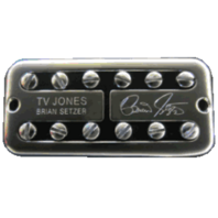 Tv Jones Brian Setzer Signature Universal Mount Chrome Bridge Guitar Pickup BSB-UVCHM