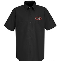 Evh Woven Work Shirt Black Small