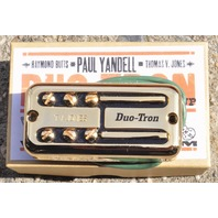 TV JONES PAUL YANDELL DUO TRON UNIVERSAL MOUNT GOLD BRIDGE PICKUP