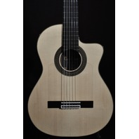 Cordoba 55FCE Negra  Limited Spanish Nylon AC/EL Guitar W/Hardshell Case