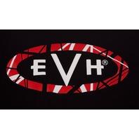 Evh Logo Tee Shirt Black Small 912-2001-306