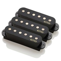 EMG SAV SET  SINGLE COIL ACTIVE PICKUP SET BLACK