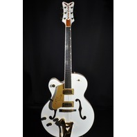 Gretsch G6136TLH Mint Lefty Players Edition White Falcon Guitar W/Hardshell 2018