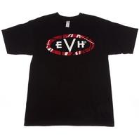 EVH Logo Tee Shirt Black  X-Large Short Sleeve 912-2001-606