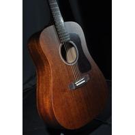 Guild USA D-20 Dreadnought Mahogany Natural Guitar W/ Hardshell Case