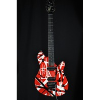 EVH Wolfgang Special Red Black White Striped Archtop Electric Guitar