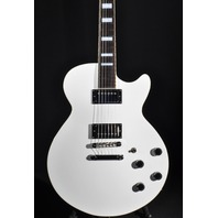 D'angelico Premier SS White Semi-Hollow Body Center Block Electric Guitar W/Gig Bag