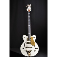 GRETSCH G6136B-TP AWT TOM PETERSSON AGED WHITE BASS GUITAR