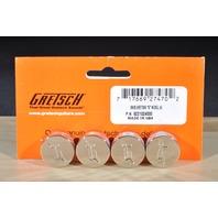 Gretsch  Knob ''G'' Nickel  4-Pack