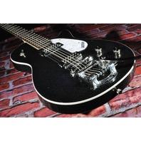 Gretsch G5265T Electromatic Jet Baritone Solid Body Black Sparkle Guitar