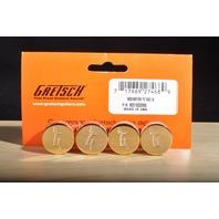 GRETSCH  '''G'' ARROW KNOB '' GOLD 4-PACK