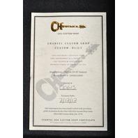 Charvel Custom Shop DK 2H HT Natural W/Hardshell case