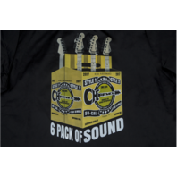 Charvel 6Pack Of Sound Logo Work Shirt Black Large