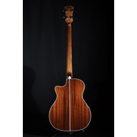 D'angelico Acoustic Electric Bass Guitar Mott Premier