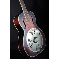Gretsch G9241 Alligator Biscuit Resonator Guitar AC/EL Round Neck Mint 2019