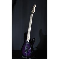 Charvel DK24  HH Trans Purple Burst Maple Neck Guitar