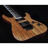 Jackson SLX Soloist Zebra Wood Guitar