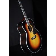 Guild USA F-55E  Jumbo Acoustic/Electric Antique Burst Guitar W/Hardshell Case