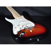 Fender American Pro Lefty Stratocaster Maple Neck Sunburst Guitar