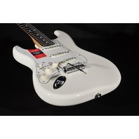Fender American Pro Lefty Stratocaster White Rosewood Fingerboard Guitar