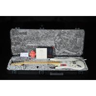 Fender American Pro Lefty Stratocaster White Maple Neck Guitar