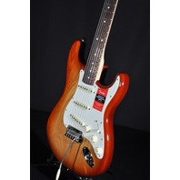 Fender American Pro Stratocaster Rosewood Fretboard Sienna Sunburst Guitar W/Hardshell