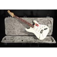 Fender American Pro Stratocaster Rosewood Fretboard Olympic White Guitar W/Hardshell