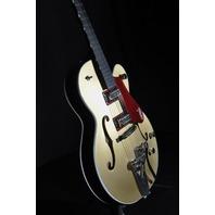 Gretsch G6118T-135TH Pro Anniversary 2-Tone Casino Gold/Dark Cherry Metallic Guitar