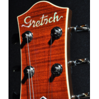 Gretsch G6228FM Players Edition Jet BT Bourbon Flame Guitar Hardshell Included