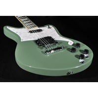 D'angelico Premier Bedford Electric Guitar Army Green Case Included