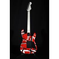 EVH Stripe Series Lefty Red/Black/White Guitar EVH1700944