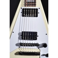 Jackson USA Custom Shop Scott Ian KV Ivory Guitar