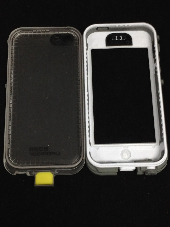 sale retailer ea1b3 faf3c Lifeproof iPhone 5c Nuud Case - Carrying Case - White/Clear