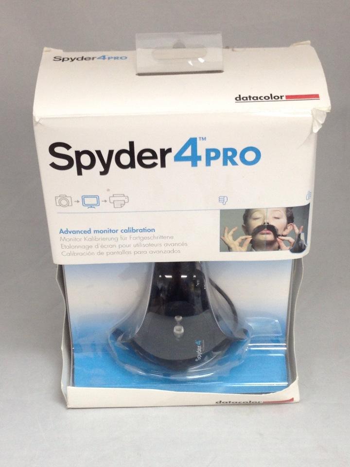 Datacolor Spyder4pro S4p100 Colorimeter For Display Calibration