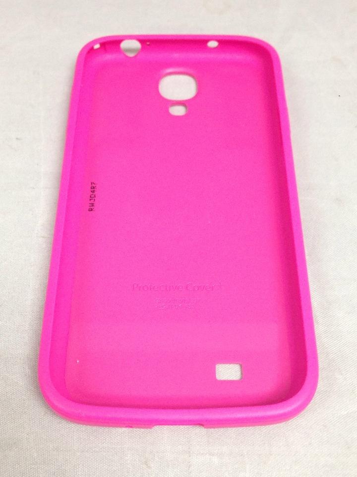 big sale dd8df 6c9fc Samsung Protective Bumper Cover Plus Case For Galaxy S4 (Pink)
