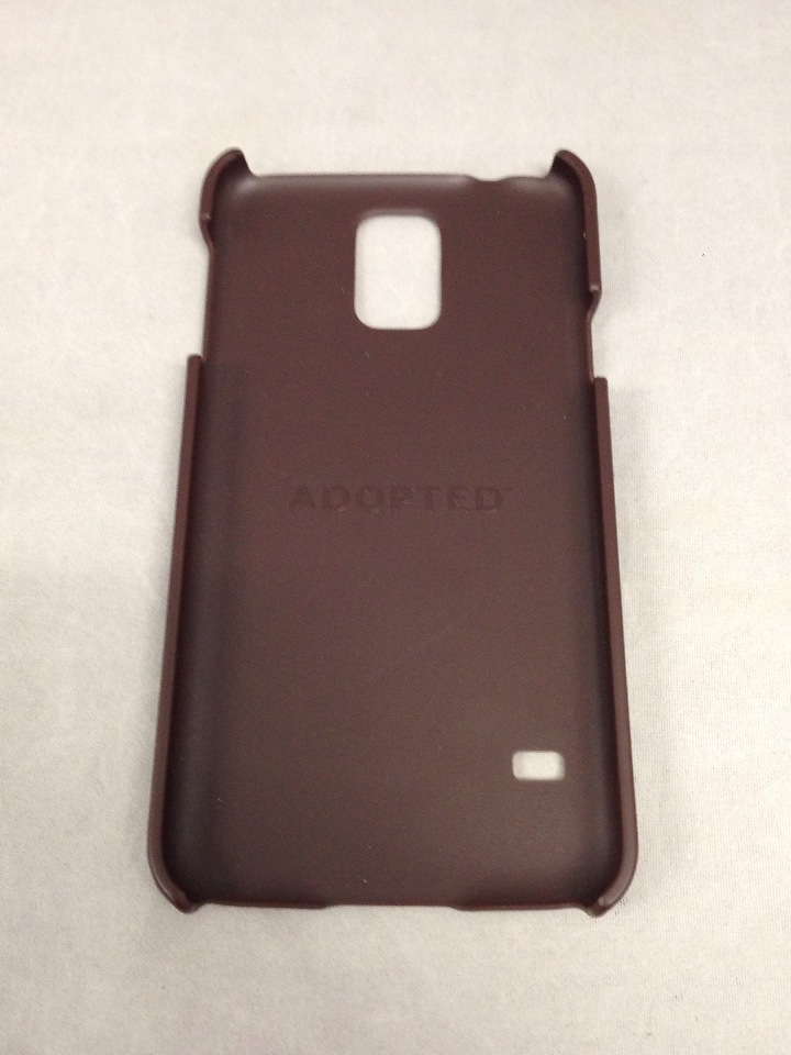newest collection 26f95 63292 Adopted Leather Cell Phone Case for Samsung Galaxy S5 - Sumatra/Root