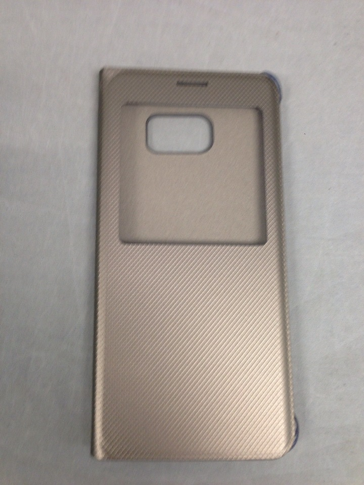 brand new 3ad82 21f0f Genuine Samsung Galaxy S6 edge Plus Case S-View Flip Cover Folio - Gold