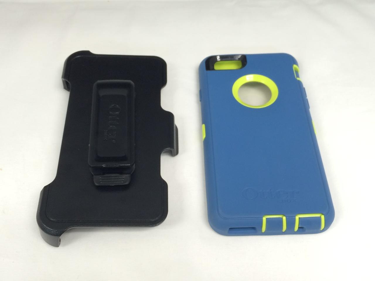 brand new 36136 e85d7 OtterBox DEFENDER iPhone 6/6s Case - Citron Green / Deep Water Blue